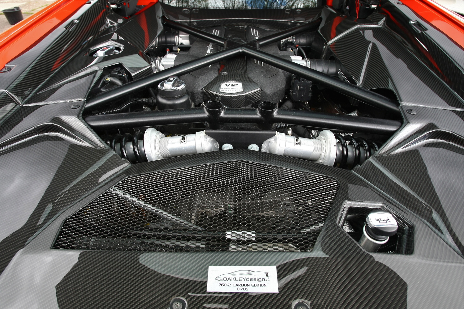 Porsche Panamera 4S >> Lamborghini Aventador LP700 Engine Bay Complete Surround ...